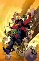 Deadpool Mercs for Money by ReillyBrown