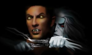 Ghost And Wolf by LJ-Phillips