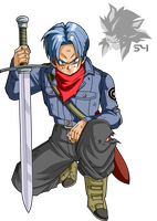 Future Trunks Dragon Ball Super by MAD-54