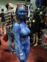 Megacon 2014: Mystique Cosplay by Oblivion-Evil