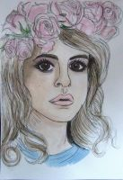 Lana Del Rey by TheEvanescenceBegins