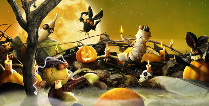 Oogily BOOgily Halloween by KomodoEmpire