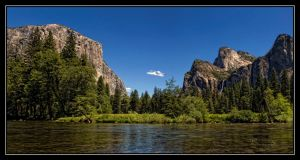 Yosemite River View by o0oLUXo0o