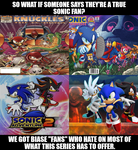 True Sonic Haters by Psyco-The-Frog