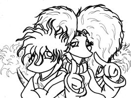 Fraggles drawing two by mohnman