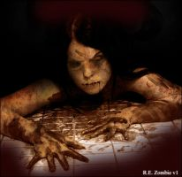 Resident Evil Zombie by logic9