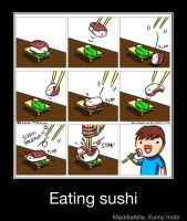 How I Eat Sushi by MistyEm1101
