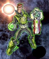 Guy Gardner color by skulljammer