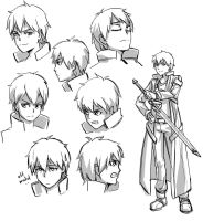 Request 014 - Kirito studies by Guts-N-Effort