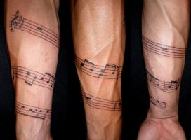 Musical Arm by DREIII