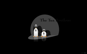 The Tux Brothers widescreen by ducatart