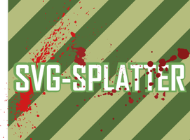 Splatter svg Brushes by MrTentacleguy