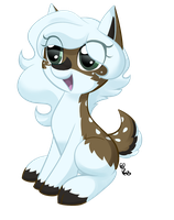 MLP// Cutie pie Snow by Snow8unny