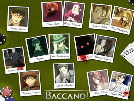 Baccano Wallpaper Gift by Wightwizard8