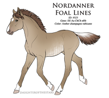 9323 - Nordanner Foal Design by Ikiuni