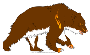 Bear design by Please-be-careful
