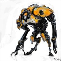 Orangebot by Mr--Jack