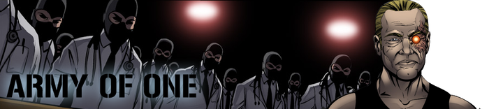 Banner 24 - Army of One by MisterCow-Pnoy