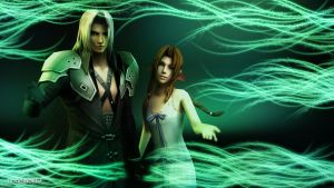 Aeris and Sephiroth: Welcome to The Lifestream by LoneWolf117