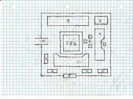 Jo kiraha's office rough layout by Kuwathen