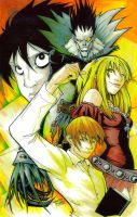 Marker : Death Note by KidNotorious