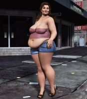 BBW _ In The City 2 by Rendermojo