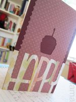 Happy Cupcake Card by michellama