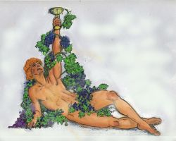 D103  DIONYSUS    (BACCHUS) by Mikedga