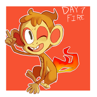 pokeddexy day 7:chimchar by ScarfFetish