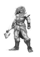Orc woman by ZaphironCalNoir