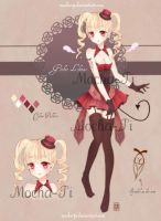{AUCTION/CLOSED} Adopt #1: Gothic Lolitas' by Mocha-Pi