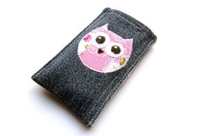 Owl cellphone cover by tinkelstein
