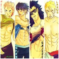 Boys of Fairy Tail by 191195