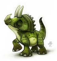 Daily Paint 649. The Jurassic Book Project by Cryptid-Creations