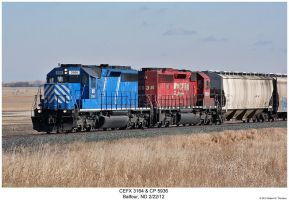 CEFX 3164 + CP 5936 by hunter1828
