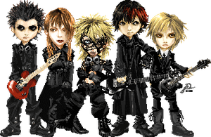 Obscure Dir en grey by monosomy