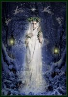 Yule Goddess by ArwensGrace
