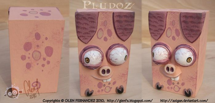 Sculptures: PLUDOZ PIG by Axigan