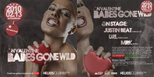 Flyer 'Babes gone wild' by Armidas