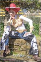 Jessie-Yodeling girl by Lady-Ragdoll