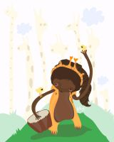 African Princess by mjdaluz
