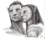 Avatar: Jake and Neytiri by MilesofCrochet