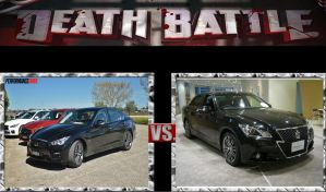 DEATH BATTLE Ideas Nissan Q50 vs Toyota Crown by pp7jones