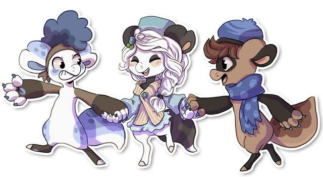 Blueberry Trio by QviCreations