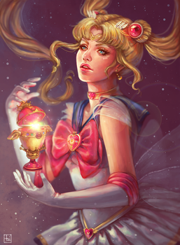 Sailor Moon by serafleur