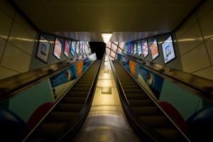 Escalator to somewhere by Neo--Art