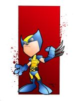 Lil' Wolverine - Colored by centric-prometheus