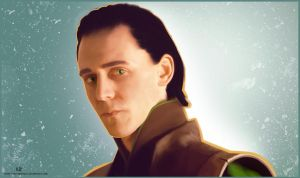 Tom Hiddleston: Loki portrait by VickyxRedfield