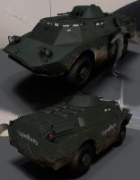 BRDM2-2 by strayferret