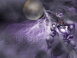 Guyver Purple by GetterDragon